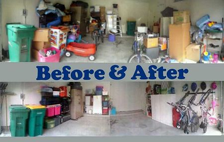 Garage organization in Houston by Katy Home Organizer.