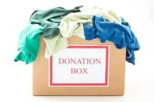 Donating items gets them out of your space so you can get your home organized..