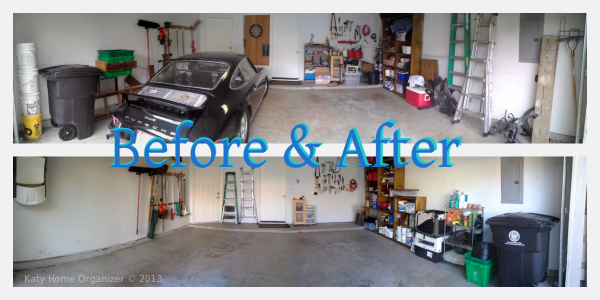 garage organization katy home organizer. Black Bedroom Furniture Sets. Home Design Ideas