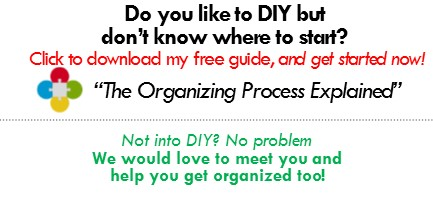 organizing DIY, how to organize