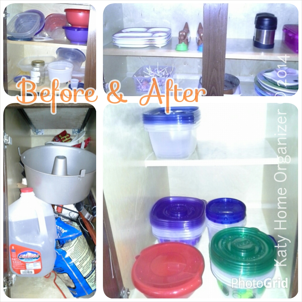 Used Kitchen Cabinets Ma: Kitchen Drawer & Cabinets Organization Before & After Pics