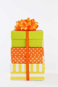 Too many gifts can derail your home organizing efforts.
