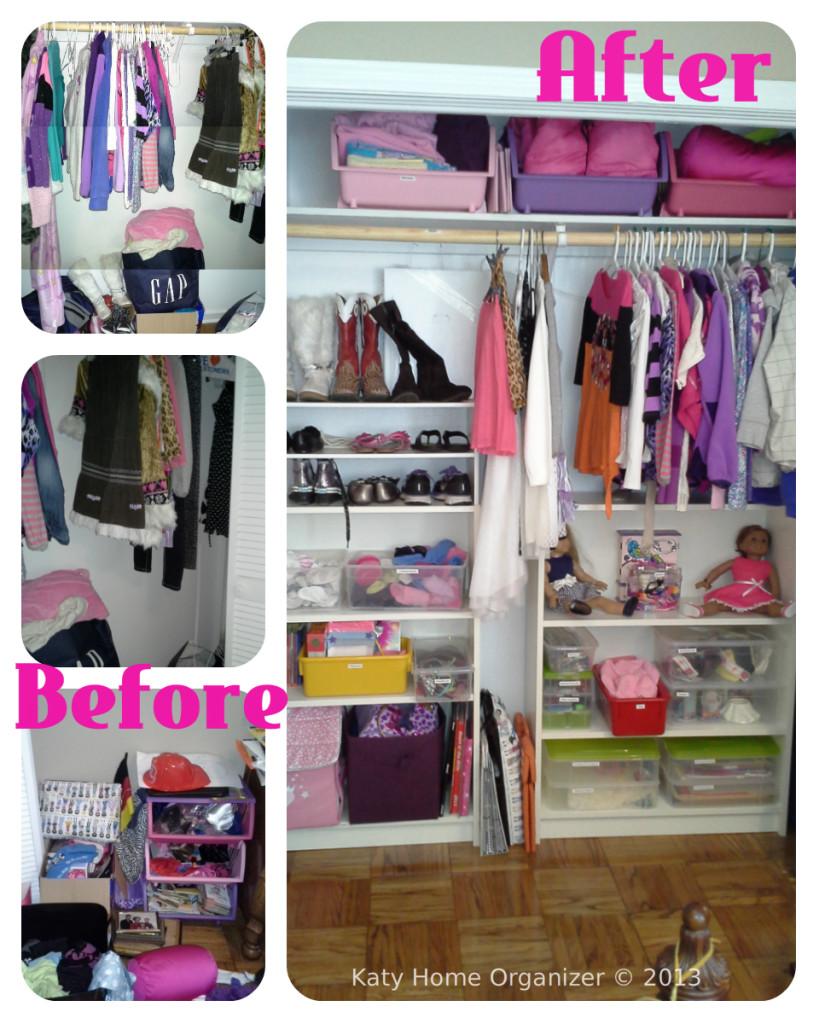 Teen tween room organization before after pics Room organization