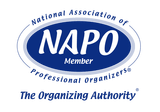katy home organizer is a member of the national association of professional organizers
