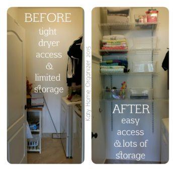 Laundry Utility Room Organization