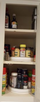 cabinet organizing, how to organize my cabinet, unpacking and organizing my kitchen
